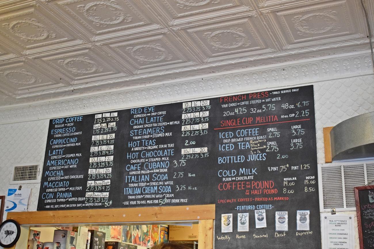 Zeke's Coffee in Baltimore