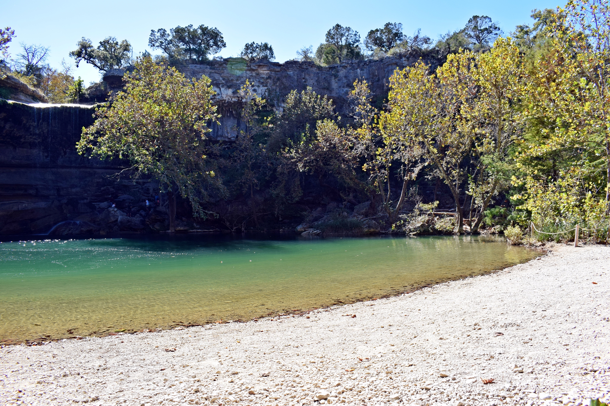 Hamilton Pool Preserve is a historic swimming hole which was designated a preserve by the Travis County Commissioners Court in 1990 Located 34 mile upstream from