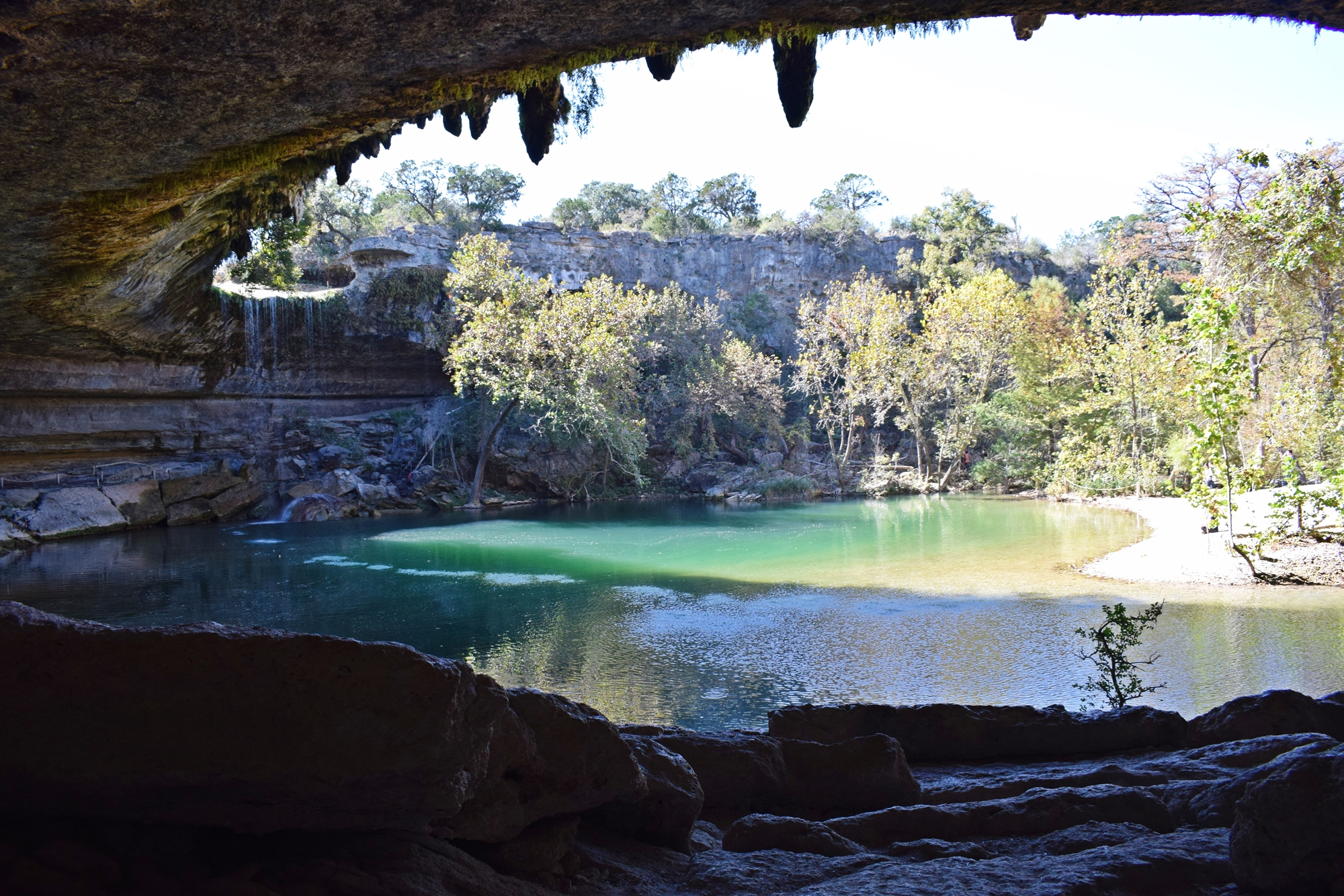 Hamilton pool preserve in dripping springs tx also coffee - Hamilton swimming pool san francisco ...