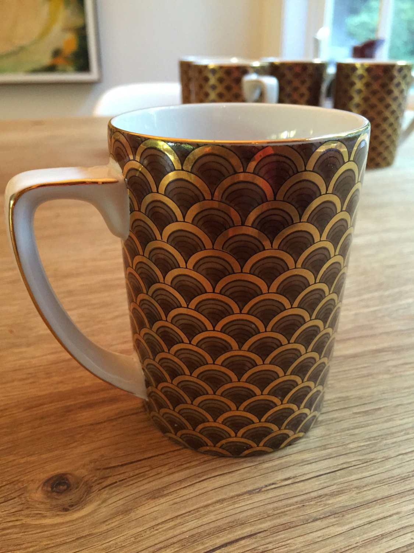 Mugs More Art Deco Also Coffee